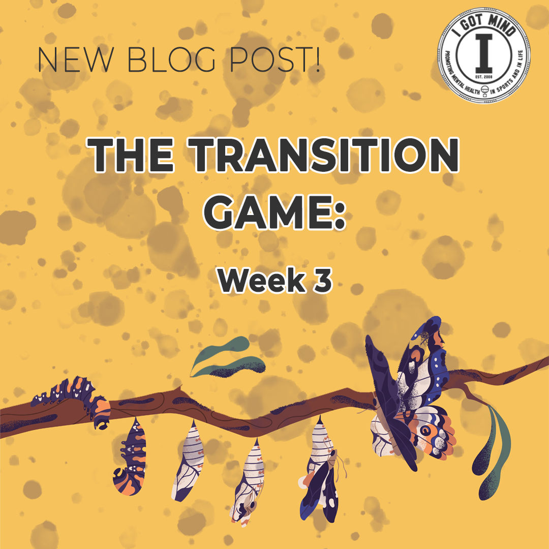 The Transition Game – Week 3